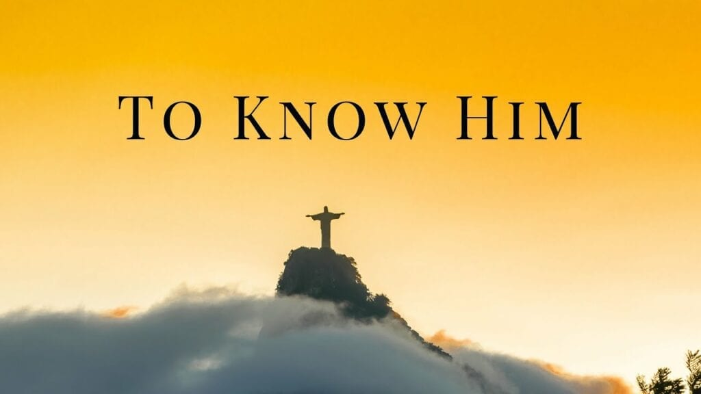 to know him